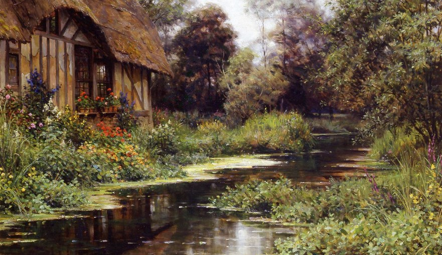 The painter of pretty Normandy; Louis Aston Knight – Picture post!