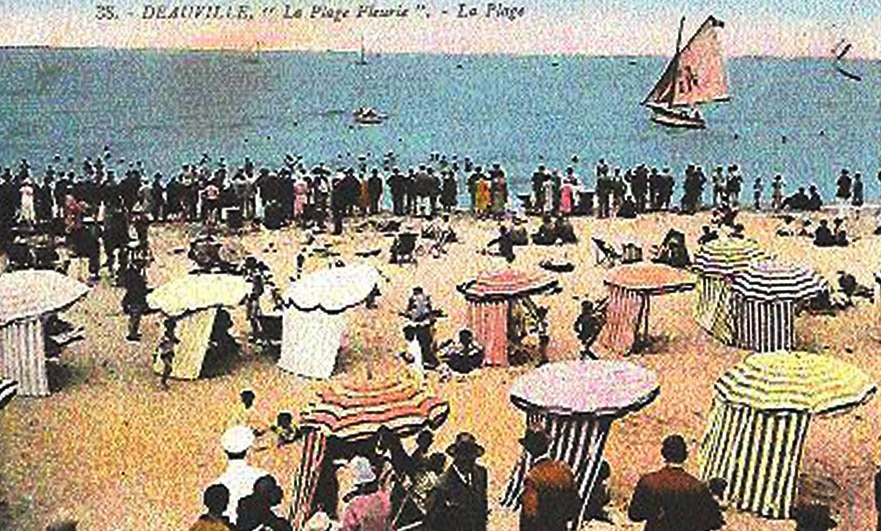 Life's a party, with the Dolly Sisters in Deauville