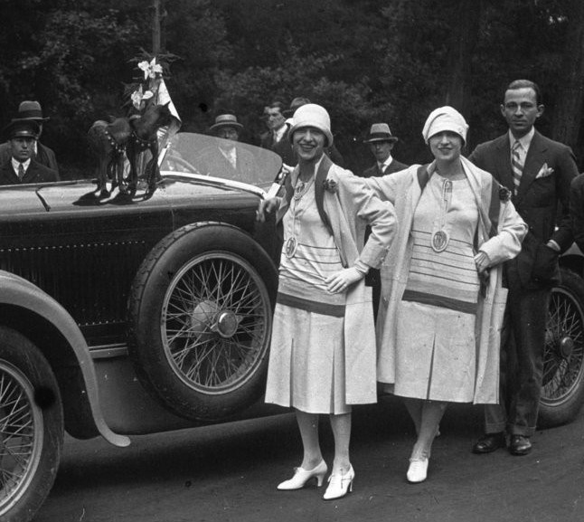 The Dolly Sisters in Deauville 1926