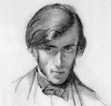 Guest blogger Frederic George Stephens, by Millais 1853