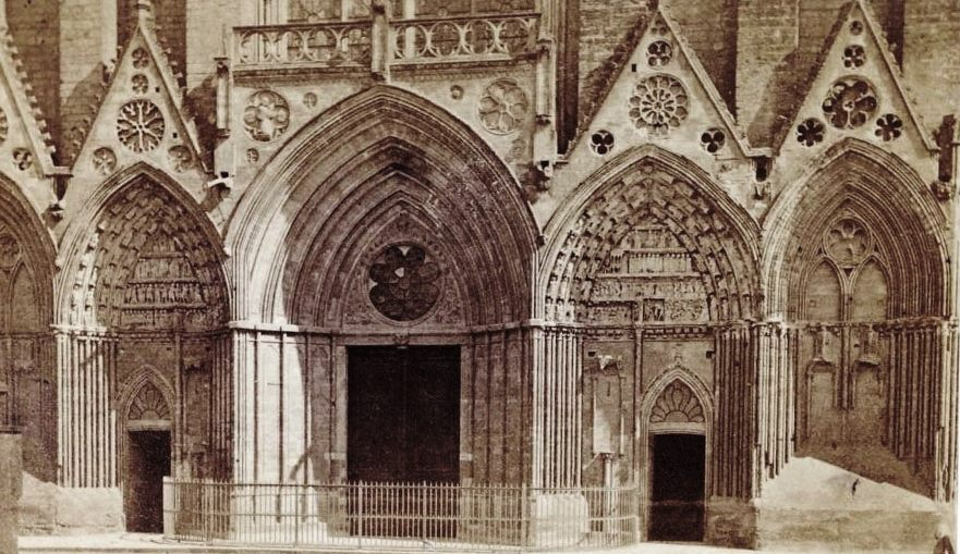 Gothic architecture in Normandy – photos from 1865