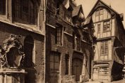 Rue-Saint-Romaine-vintage-postcard