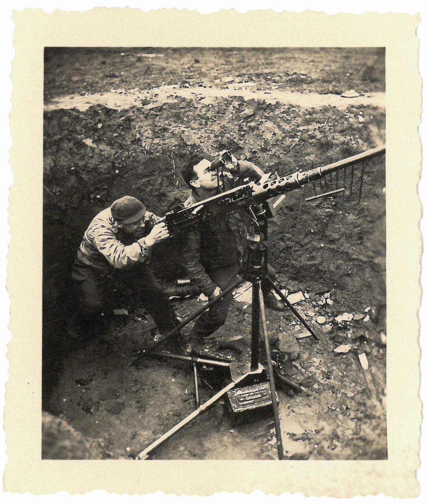 'Flash C.P. near Rimburg' WW2