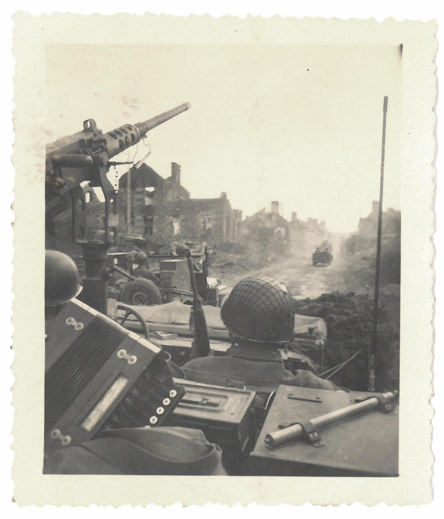 1945 'Near Ubach Germany'