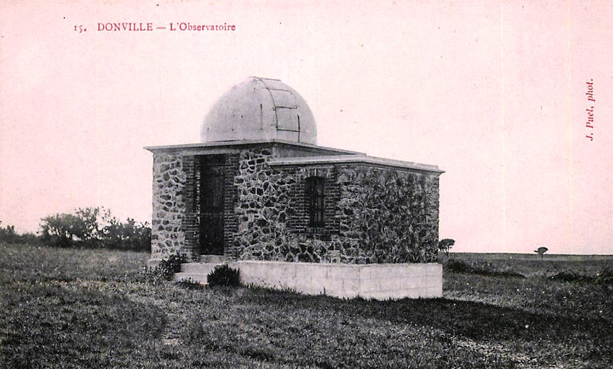 Lucien's observatory at Donville-les-Bains