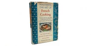 First edition 'Mastering the Art of French Cooking' by by Julia Child, Louisette Bertholle and Simone Beck