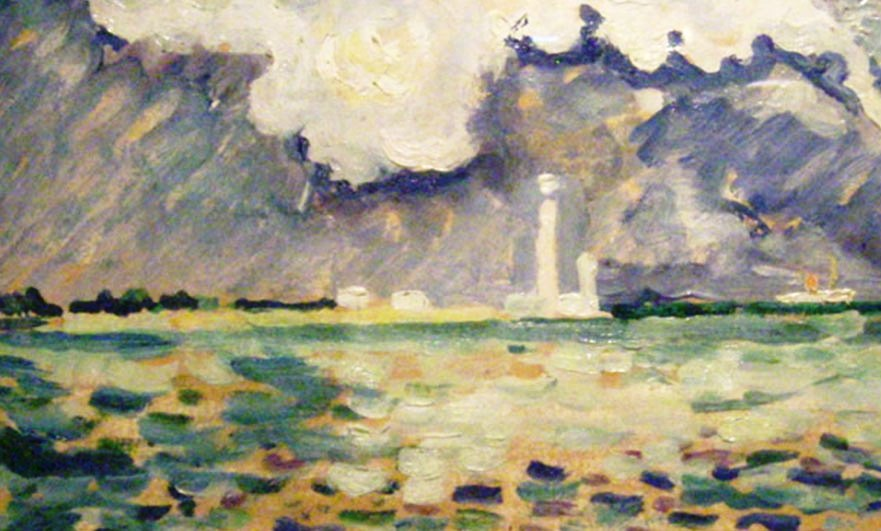Phare de Gatteville by Paul Signac 1934