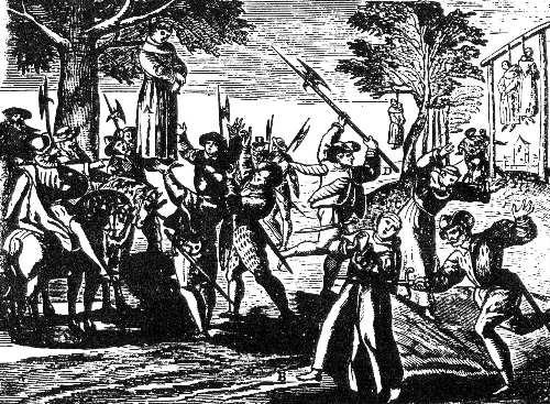 16th century Protestant mayhem in France