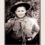 Paul in his scout uniform, Kent WW2