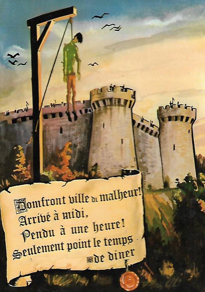 Domfront ville de Malheur