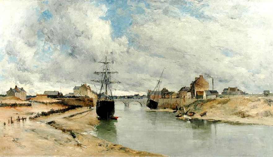 Port of Isigny by Frank Myers-Boggs