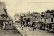 Vintage postcard of Saint-Aubin-de-Bonneval Normandy