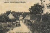 Vintage postcard of Loisail in the Perche region of the Orne Normandy