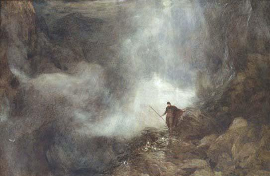 Arthur in the gruesome glen by Henry Clarence White (wiki free)