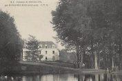 Chateau de Grangues, Calvados, postcard