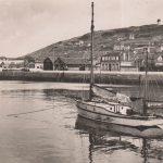 Vintage postcard of Fecamp, Normandy