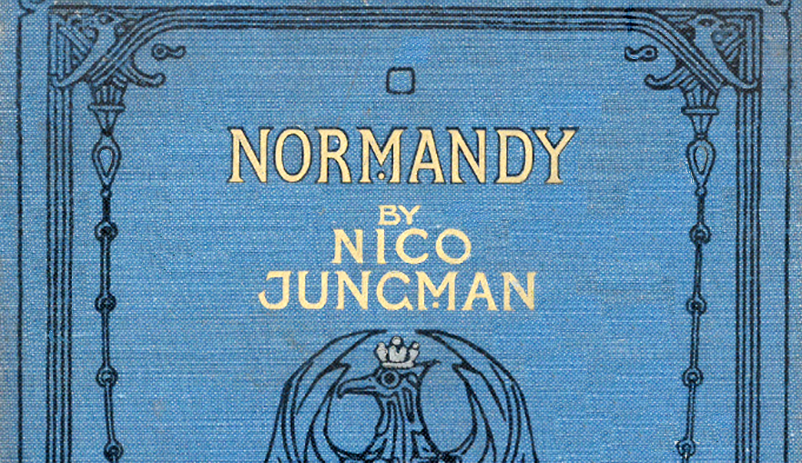 Normandy by Geraldine Mitton with illustrations by Nico Jungman