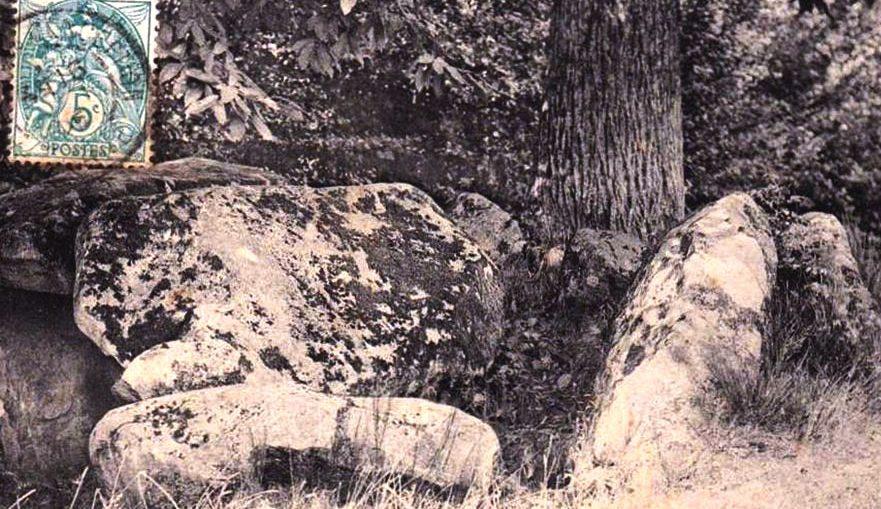 Allée couverte de la Table du Diable near Passais Orne