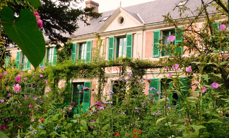 Monet's house at Giverny September 2017