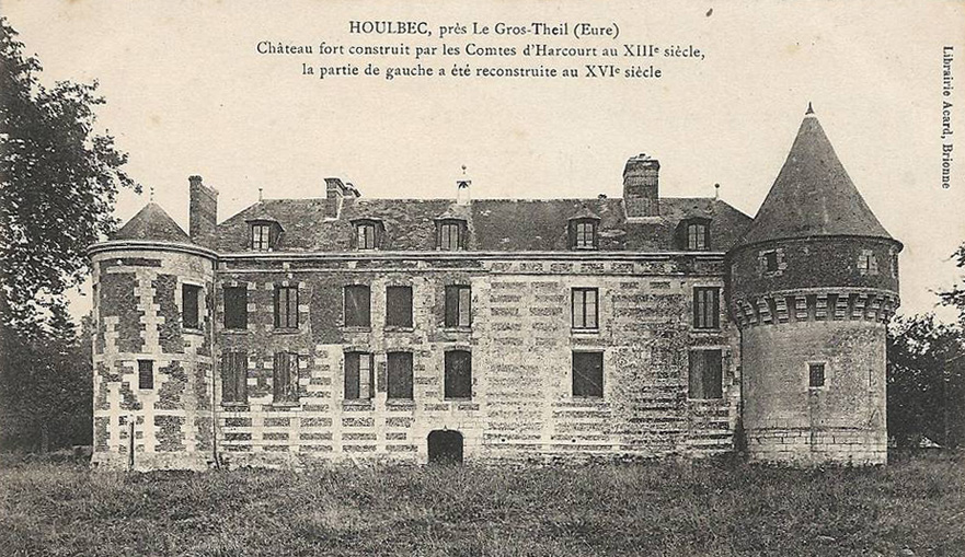 Ripe for renovation; a chateau in the Eure