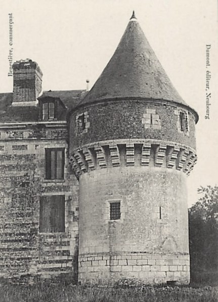 Pepperpot tower at chateau de Houlbec